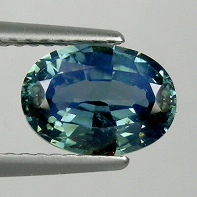 2.16ct  ULTRA  RARE - GORGEOUS _ GREENISH BLUE _UNHEATED - NATURAL SAPPHIRE  !