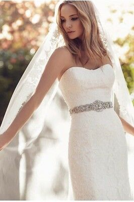 Ivory Wedding Dress Size 12 - 14 In Great Condition