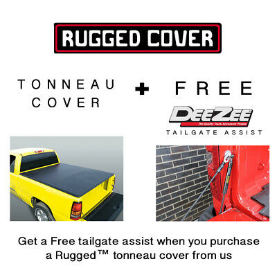 Rugged Liner Tonneau Cover Ford F150 6.5' Bed 2015 - 2017