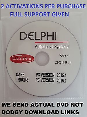 NEW 2015 I DELPHI DSI15OE software for cars and trucks SCANNER CODE READER +W0W