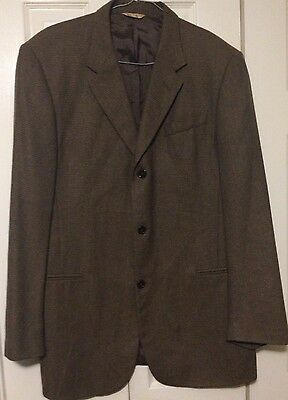 Donna Karan Signature Sport Coat 42 Long Three Button No Vent