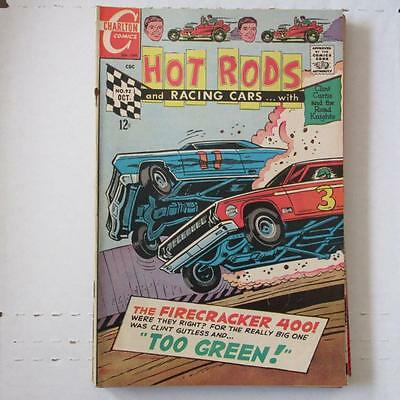 Hot Rods and Racing Cars (Charlton) 92 VG/FN  SKU17362 25% Off!