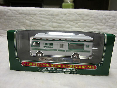 2008 Hess Miniature Recreation  Van-New In The Box!