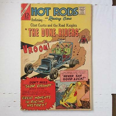 Hot Rods and Racing Cars (Charlton) 80 VG/FN  SKU17358 25% Off!