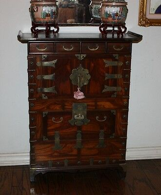 Antique Korean Chinese Cabinet, Owned by Redd Foxx - Los Angeles