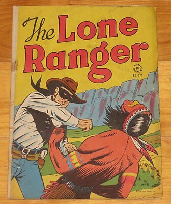 Dell 1946 Early LONE RANGER Four Color No. 125 Solid VG 4.0 NR