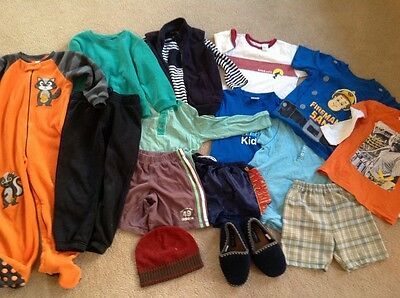 BOYS clothing and footwear, bulk lot 16 items, Size 4