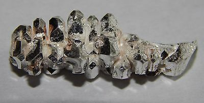 3.77 Grams of .999 crystalline silver crystal nugget 99.999% pure