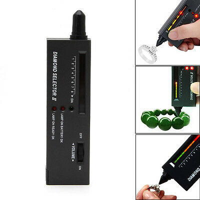 Professional LED High Accuracy Diamond Tester Jewelry Gem Selector Test Pen Tool