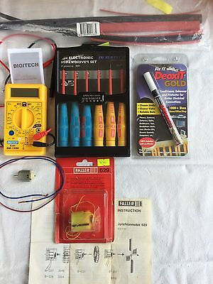Miscellaneous Electronic & Electrical pieces*Good for Model Trains New&Used