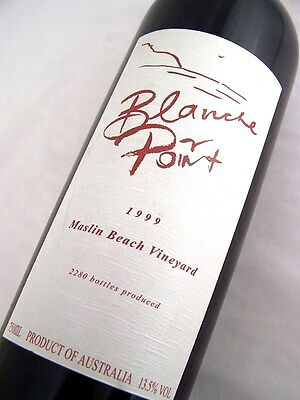 1999 SCARPANTONI Estate Blanche Point Cabernet Blend Isle of Wine