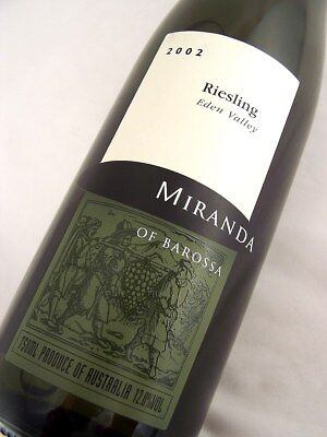 2002 MIRANDA Eden Valley Riesling Isle of Wine