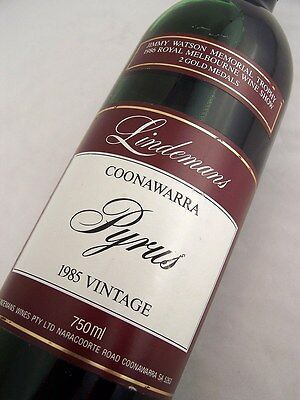 1985 LINDEMANS Pyrus Cabernet Blend Isle of Wine