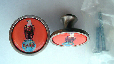 Case Tractors Cabinet Knobs, Case Tractors Logo Cabinet Knobs, Case Agriculture