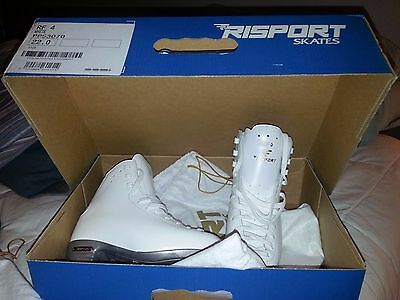 Risport RF4 New Size 220 (Size 3) Girls Ice/roller Figure Skates FREE SHIPPING