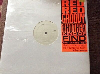 """Acid house - red red groovy - excellent white label prom 12"""" vinyl"""