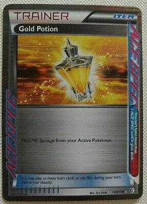 Gold Potion - Boundaries Crossed 140/149 - Ultra Rare Pokemon Card **m**