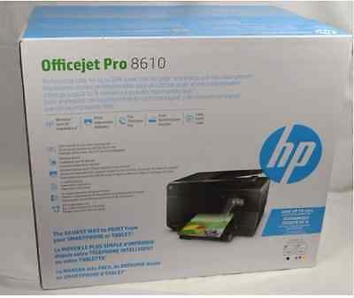 Hp Officejet Pro 8610 All-In-One Ink Jet Printer