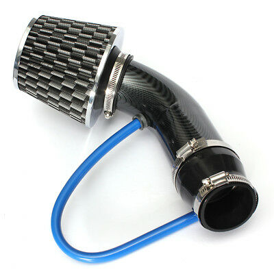 Universal Car Cold Air Intake Filter Alumimum Induction Kit Pipe Hose System Us