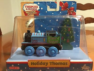 Thomas the Train Wooden Train Limited Edition Christmas Train NEW