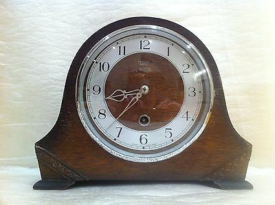 Smiths Enfield Clock. Mantel. Pendulum.1949. In amazing condition.