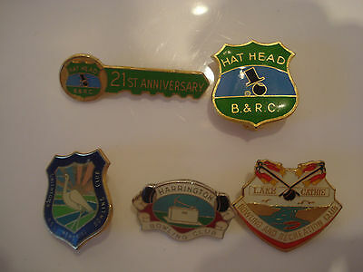 NSW North Coast Bowling Clubs Badges
