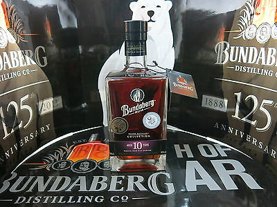 Bundaberg Rum Master Distillers Collection Mdc1 10 Year Old Br 5415 With Tag