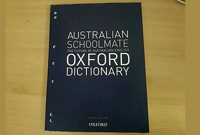 Australian schoolmate Oxford dictionary Fifth edition paperback 2013 by Oxford U
