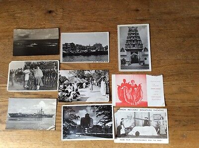9 vintage photographs/postcards not used