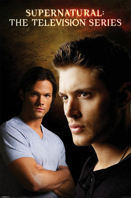 "Supernatural The Television Series Poster ""licensed"" Brand New"