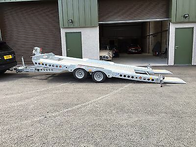 Ifor Williams CT177 Car Trailer Transporter Recovery - Used 3 Times Only