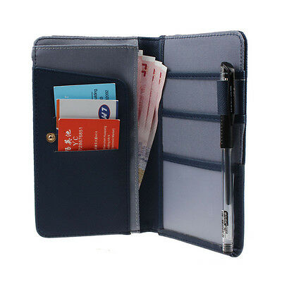 New Journey Travel Passport Holder Wallet Purse ID Card Organizer Case