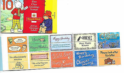 1994 Book Of First Class Greeting Labels