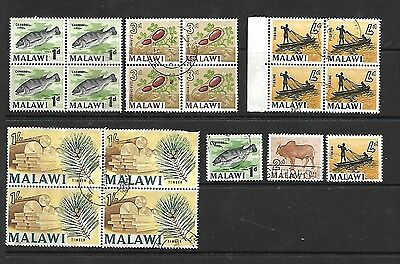 Collection Of Malawi Stamps