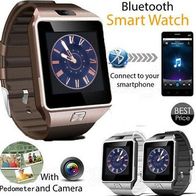 【DZ209】Bluetooth Smart Watch DZ09 GSM Smartwatch For Android Phone B8K9