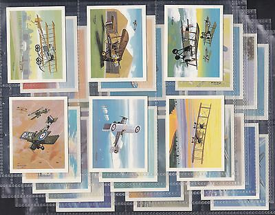 Tom Thumb, History Of British Aviation, Set Of 30 Issued In 1988. Excellent.