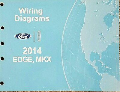 2014 Lincoln MKX Ford Edge Wiring Diagrams Manual