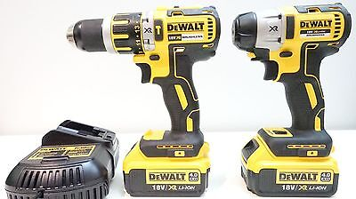 Dewalt Dcd795 Dcf895 Brushless 2 Piece Cordless Impact And Drill Combo