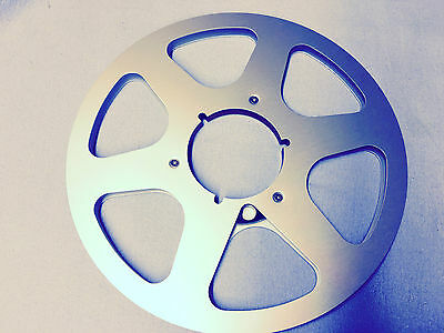 """## 10.5"""" Aluminium NAB Spool for 1/4 inch Tape Reel to Reel Superb Condition ##"""