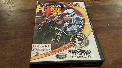 Plymouth Devils V Ipswich Witches--Speedway Dvd--12Th April 2013
