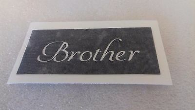 Brother word stencils for etching on glass   present gift hobby craft glassware