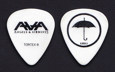 Angels & Airwaves Tom DeLonge Umbrella White Guitar Pick - 2010 Tour Blink-182