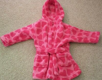 Baby girls 3-6 months mothercare dressing gown