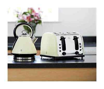 Russell Hobbs Legacy Kettle and Toaster Set Vintage Kettle & 4 Slice Toaster