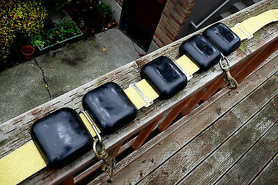 Scuba Weights Rubber Coated 24lbs of scuba diving weights and belt
