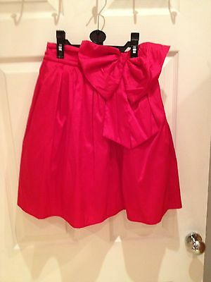 Beautiful Girls Next Red Skirt with large bow and netting
