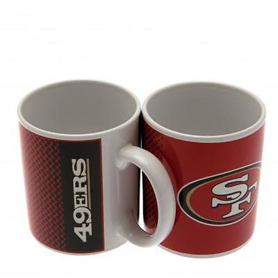 Official Licensed NFL Product San Francisco 49ers Mug FD Cup Coffee Fan Gift New