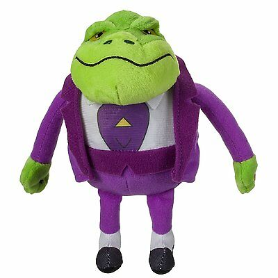 Danger Mouse Small Plush with Sound - Baron Greenback  *BRAND NEW*