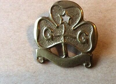 Vintage Little Girl Guides Pin Badge - Collectors Piece