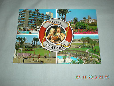 Unused Postcard Hotel Playasol Roquetas De Mar Costa De Almeria - No 10
